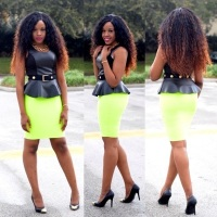 Plush Peplum